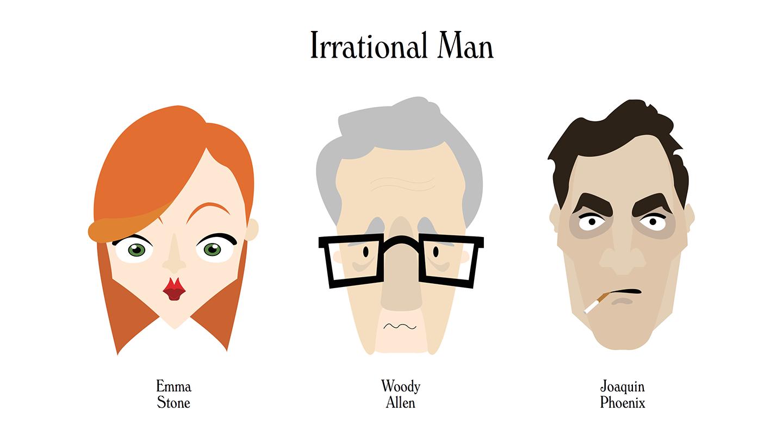 Irrational Man- illustrations